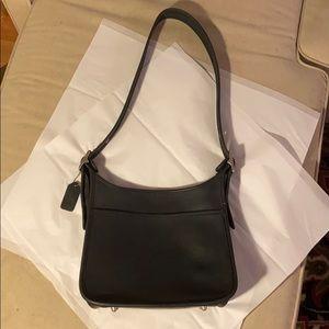 Vintage USA Made Coach Legacy Zip Handbag 9966